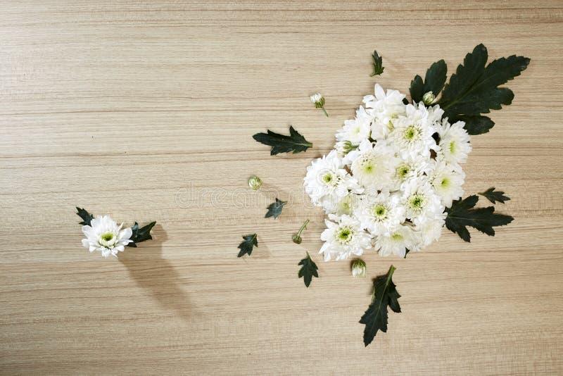 Blumenstrauß von Chrysanthemen stockfotografie