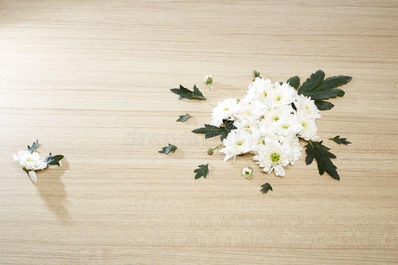 Blumenstrauß von Chrysanthemen lizenzfreies stockbild