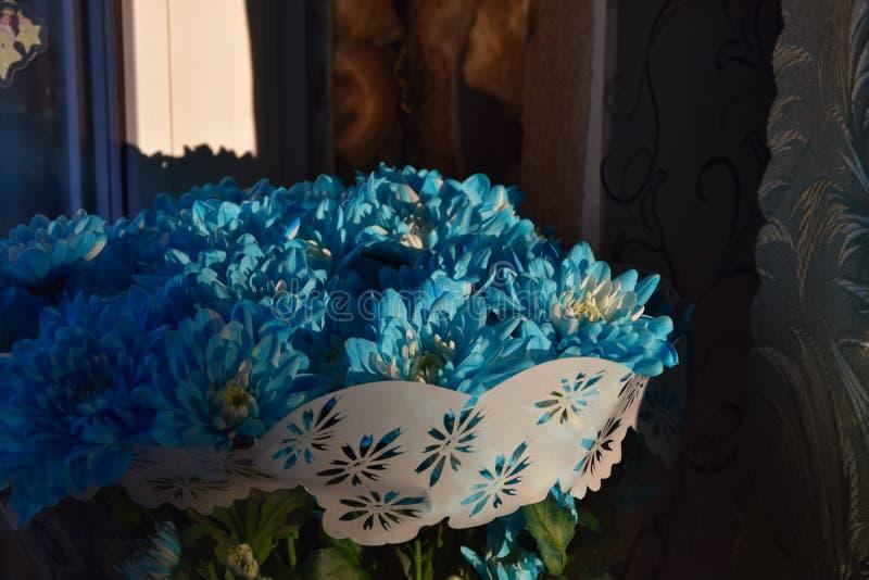 Blumenstrau? von Chrysanthemen stockbilder