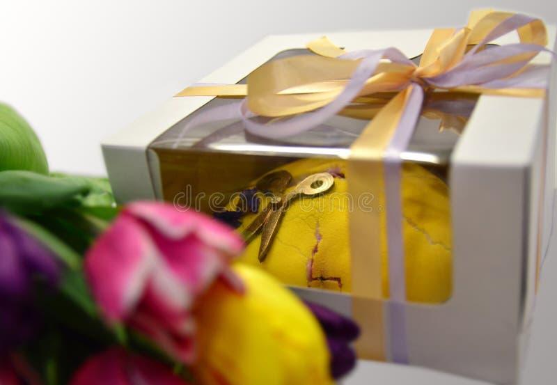 Blumenstrau? von Tulpen lizenzfreie stockbilder