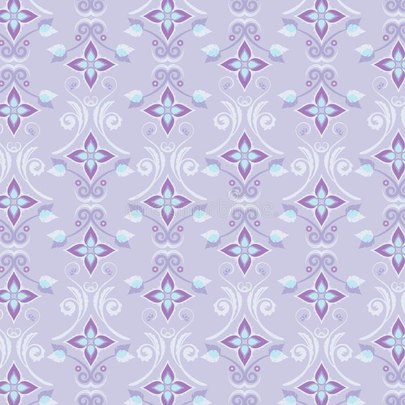 Blumentapeten-Muster stock abbildung