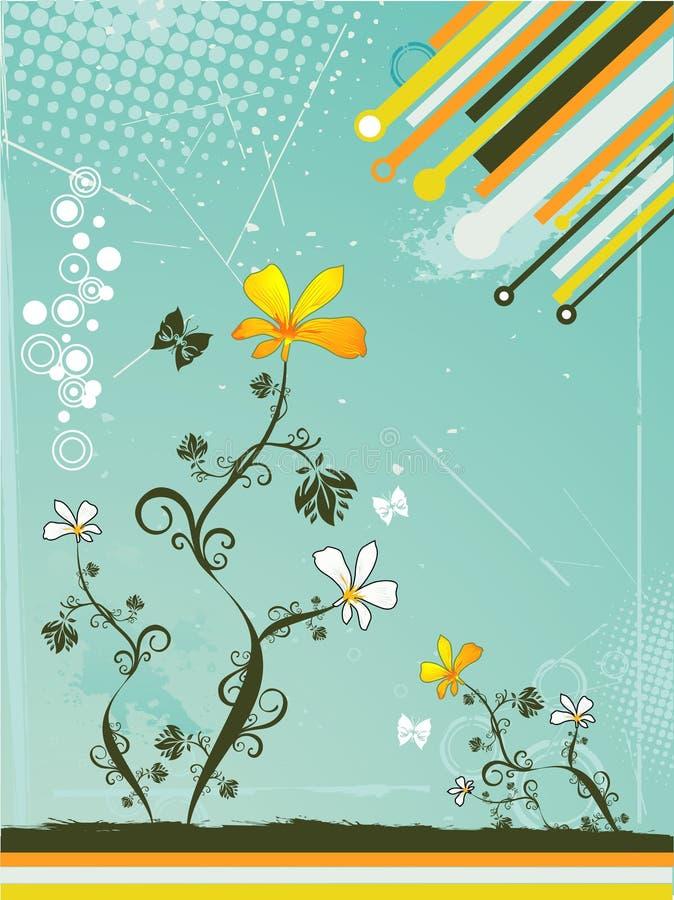 Blumenvektor lizenzfreie abbildung