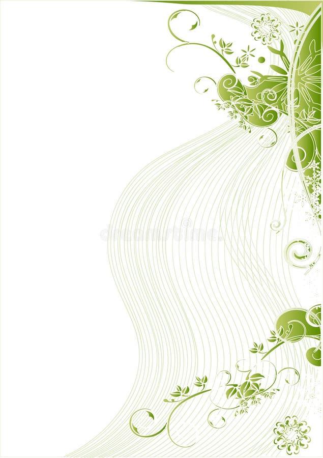 Blumenvektorhintergrund vektor abbildung