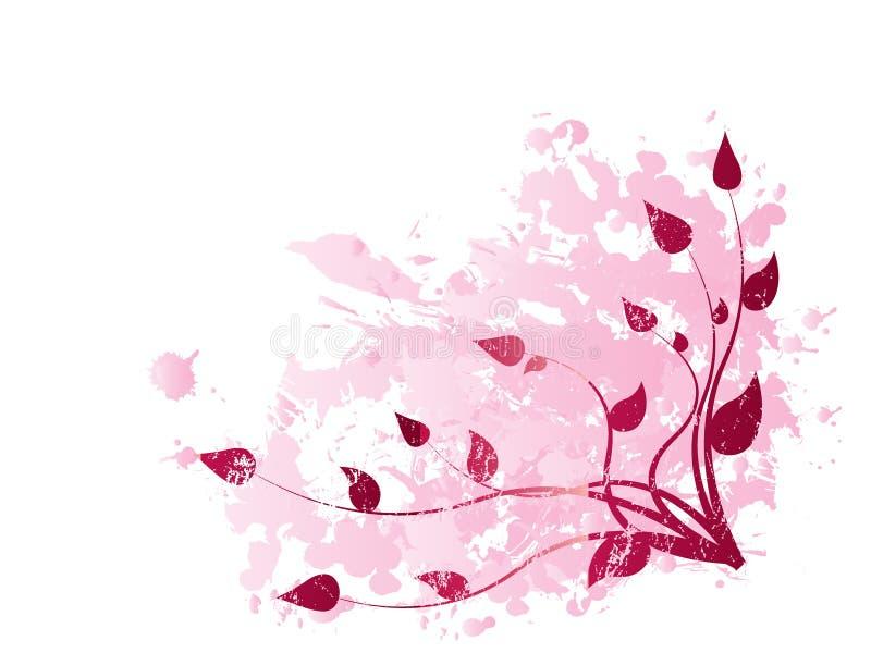 Blumenverzierung stockfoto