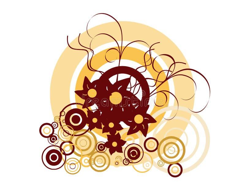 Download Blumenverzierung vektor abbildung. Illustration von elegant - 9087772