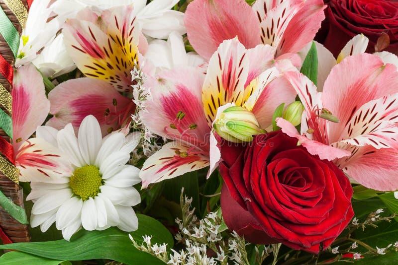 Blumenzusammensetzung stockbilder