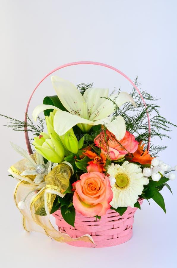 Blumenzusammensetzung stockfoto