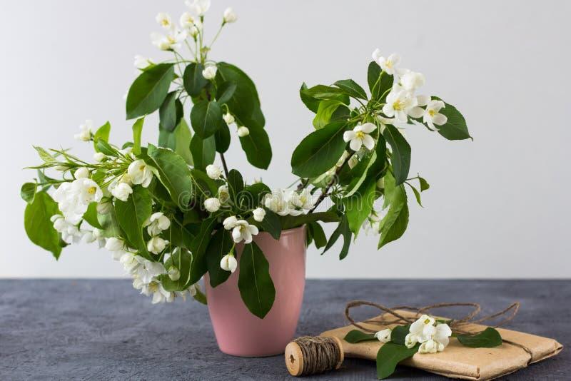 Blumenzusammensetzung an einem sonnigen Tag des Frühlinges lizenzfreie stockfotos