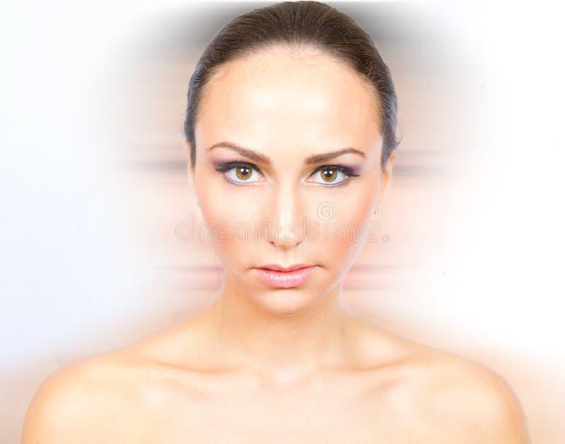 Download Blur stock image. Image of studio, model, female, brunette - 16490415