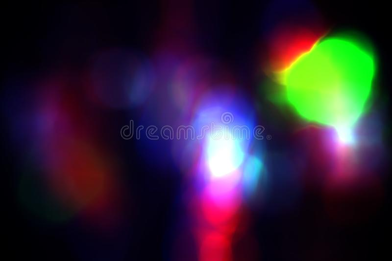Blur abstract bokeh background element for overlay, Colorful defocused light stock photos