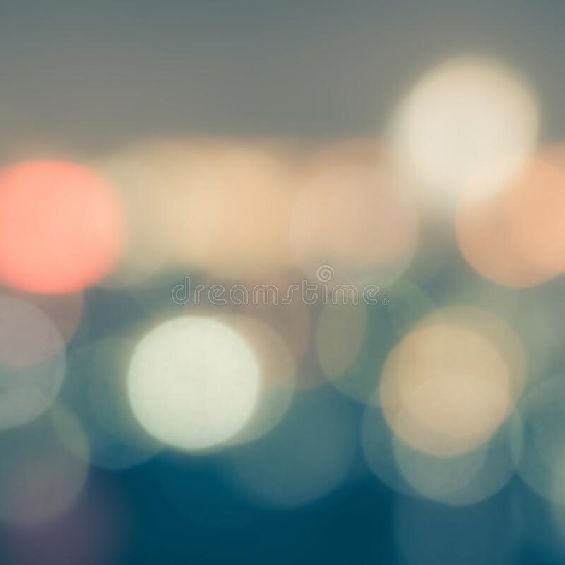 Free Blur Background Of Night City Life With Lights Bokeh In Cool Vintage Color Stock Images - 200039994
