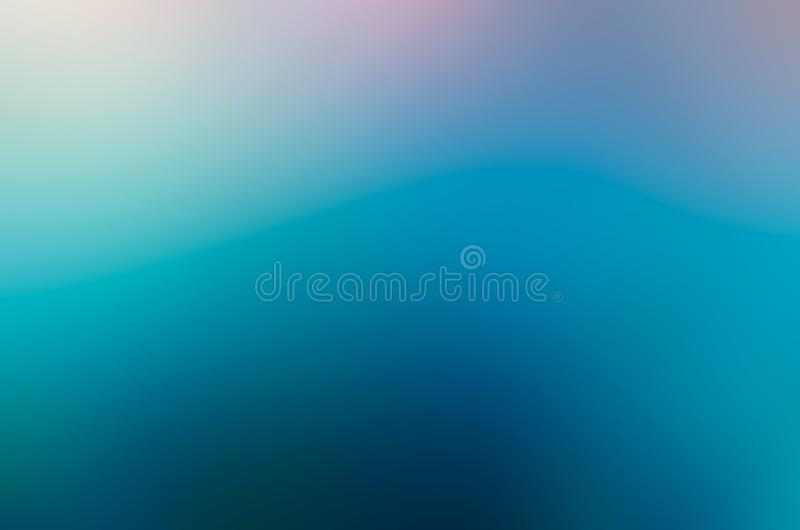 Blur blue abstract background design dark blue Light blue Lighting from the corner stock photography