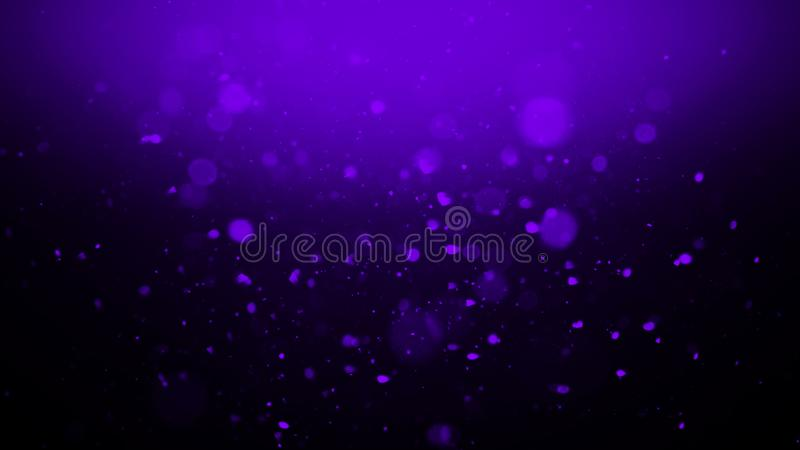 Blur blue glitter effect and glowing bokeh on texture background . Design element royalty free illustration
