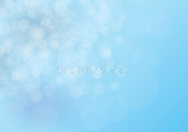 Blur bokeh background, Vector illustration.  vector illustration