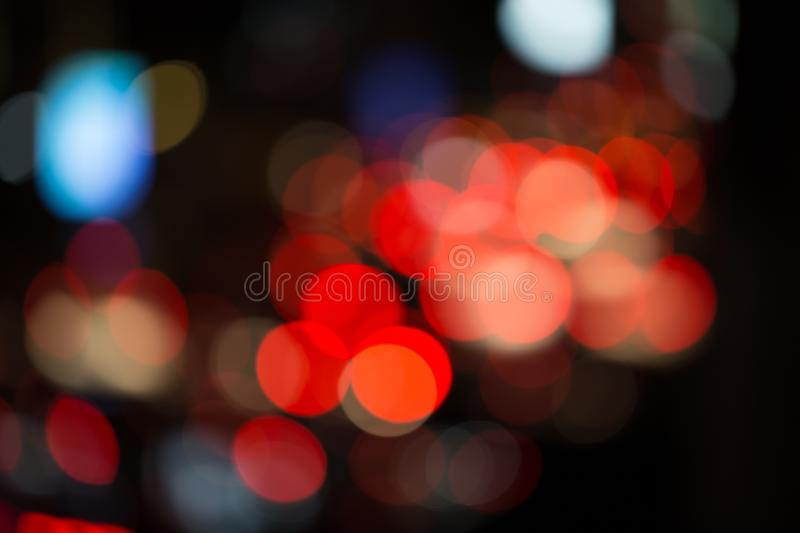 Blur / Bokeh of cars stock images