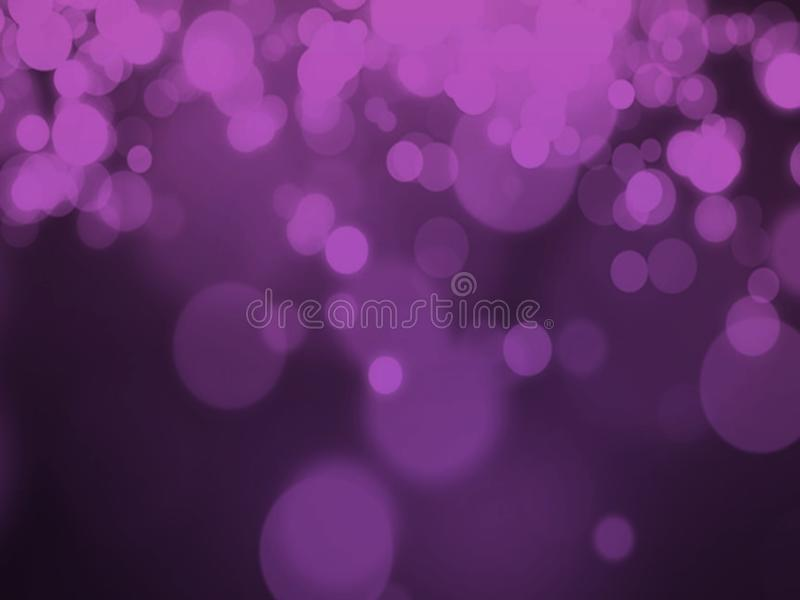 Blur bokeh purple background. Blur bokeh purple light effect bubles background and walpaper royalty free stock image