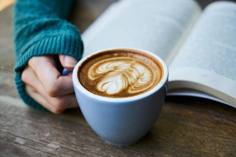 Blur, Book, Breakfast royalty free stock image