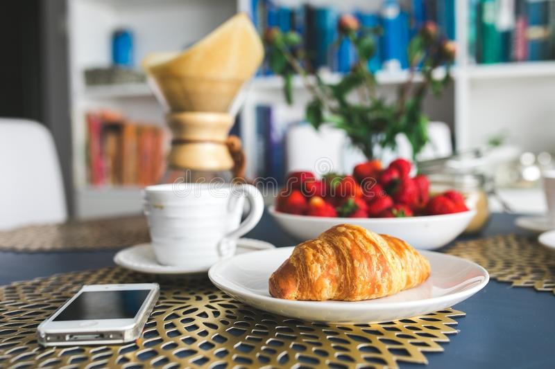 Blur, Bread, Breakfast royalty free stock photos