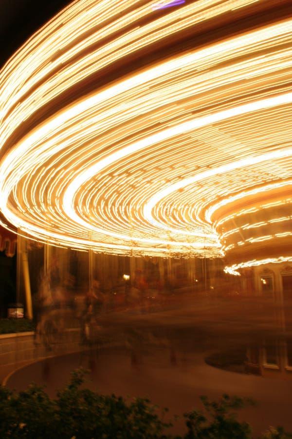 blur carousel στοκ εικόνες
