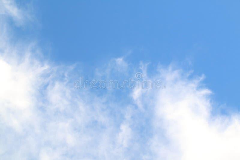 Blur cloud on blue sky. Image of blur cloud on blue sky stock photography