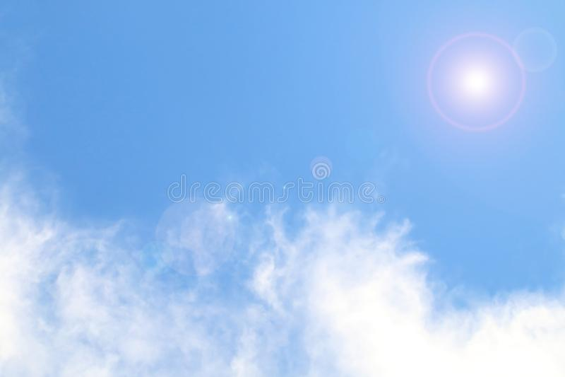 Blur cloud on blue sky. Image of blur cloud on blue sky stock images
