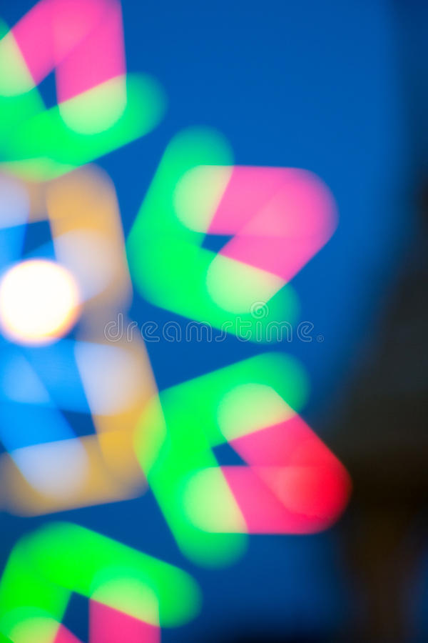 Blur Colorful bokeh at temple in Thailand. Blur Colorful bokeh at temple in Thailand stock photography