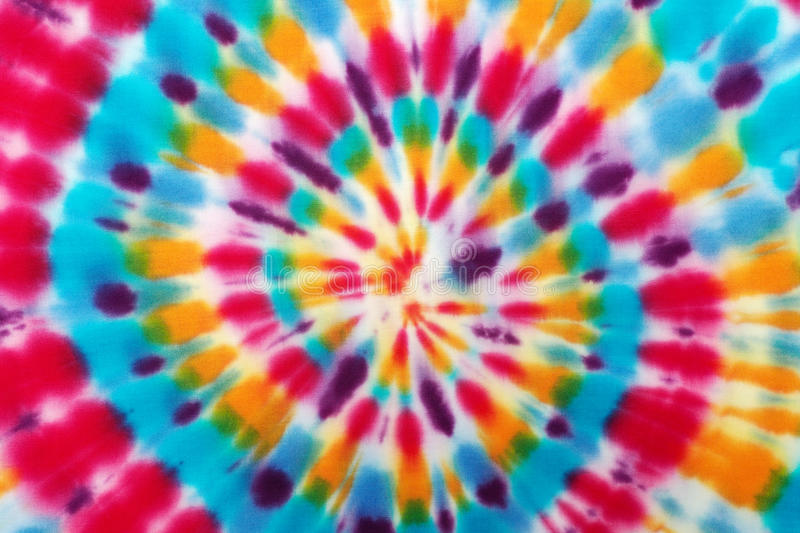 Blur fabric Tie-dye. Blur fabric Tie dye bright colors texture background royalty free stock photo