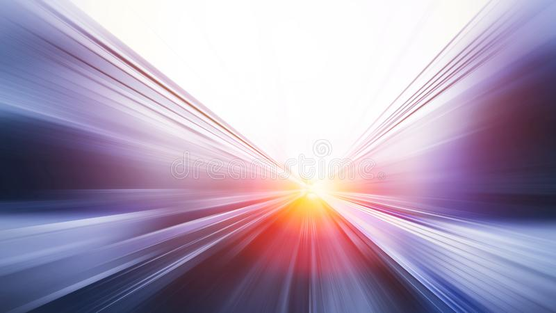Blur fast moving high speed abstract for background royalty free stock image