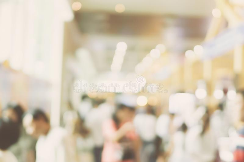 Blur image background of people in shopping mall. Blur image background of people in shopping mall royalty free stock image