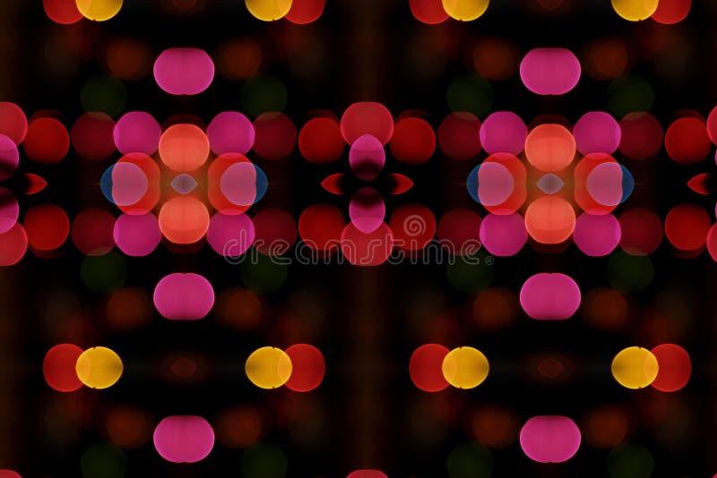 Blur Lights Wallpaper stock photography