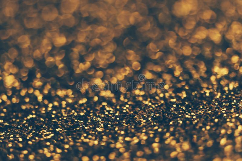 Golden bokeh background royalty free stock image