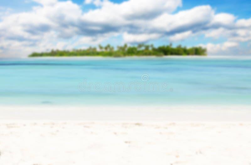 Blur nonsettled tropical island stock photos