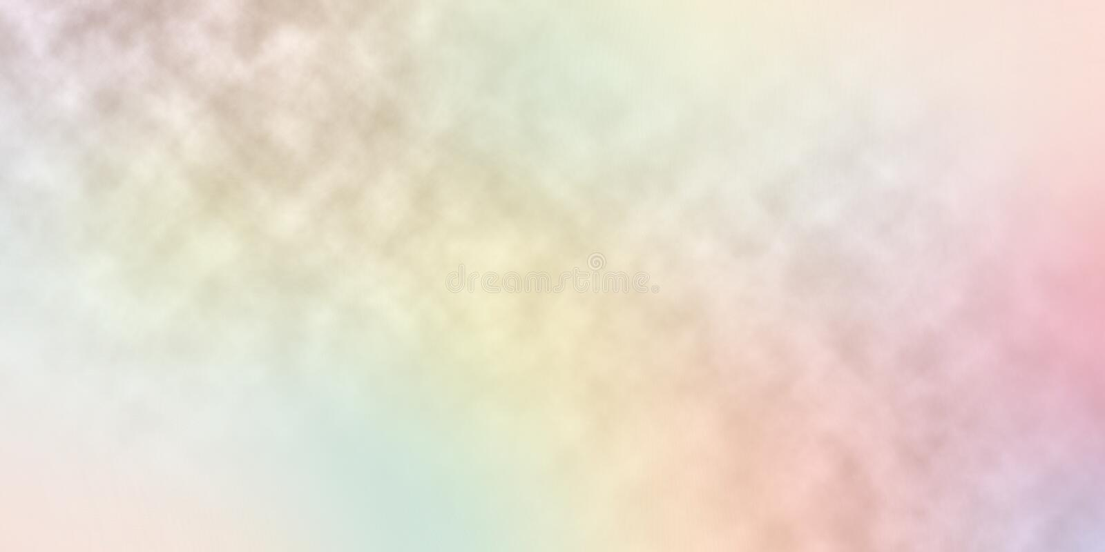 Blur rainbow colors background abstract stock illustration
