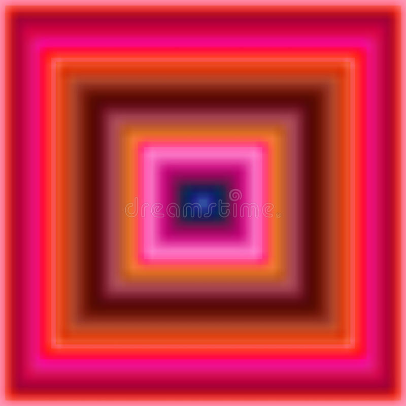 Blur squares. Pink and red blur squares vector illustration