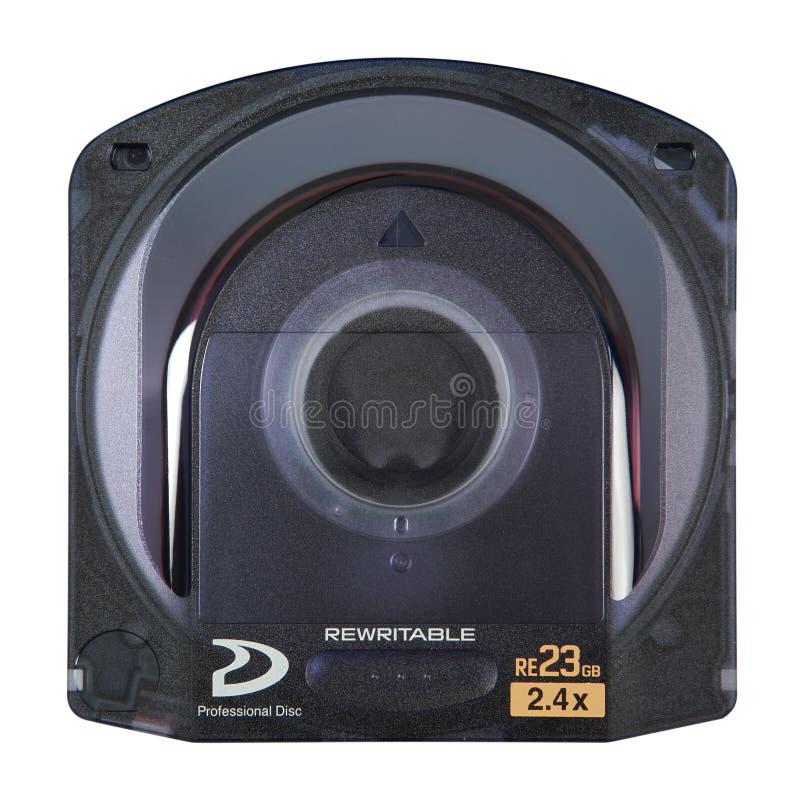 Bluray HD DVD cartridge stock image