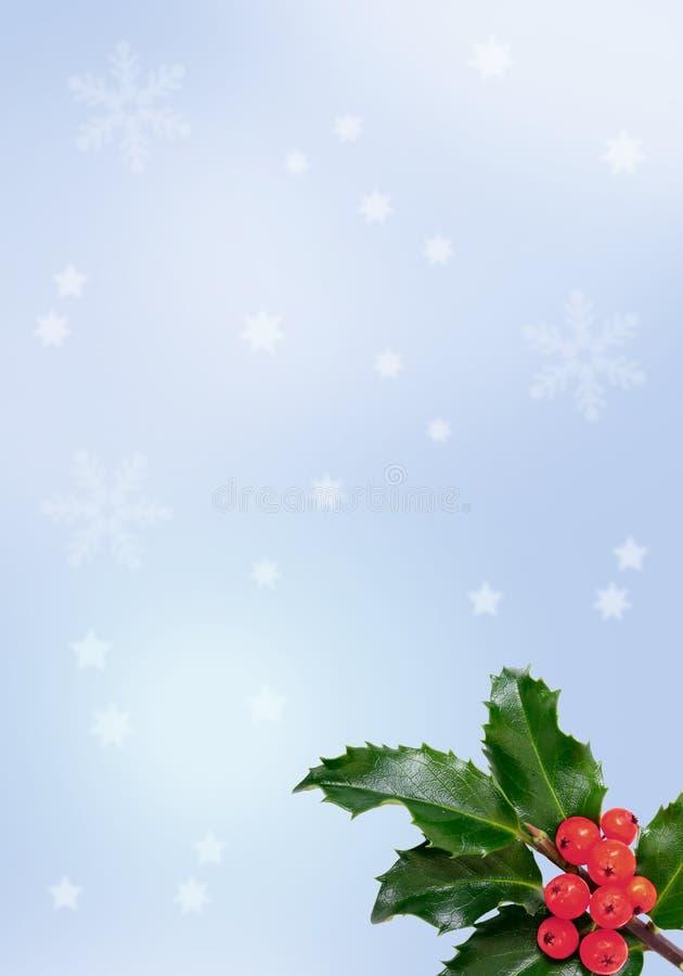 Blure Weihnachtshintergrund lizenzfreie abbildung
