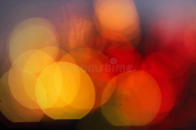 Blured background. Red and yellow colors stock photos