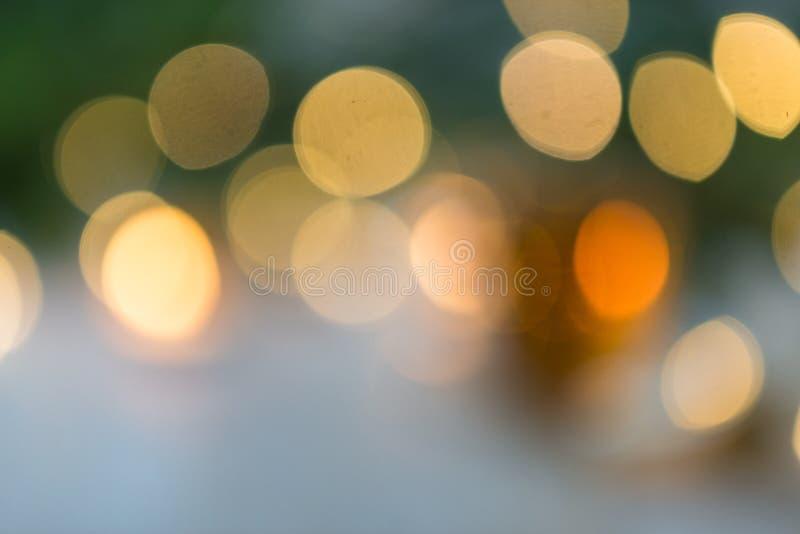 Blured christmass背景-树和光 库存图片