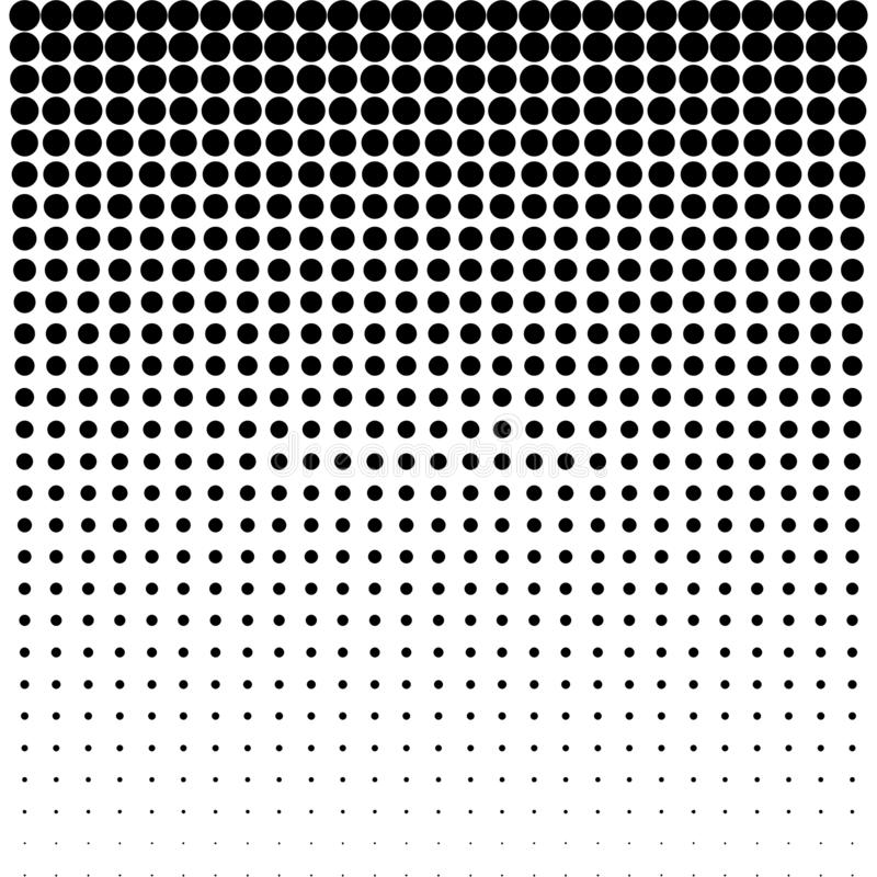 Blured decoratief abstract ontwerp met cirkel De vector van de dalingstextuur De vector van het bellenpatroon stock illustratie