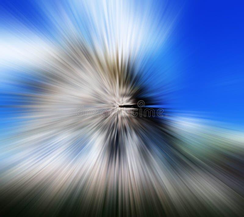Download Blurradial stock illustrationer. Illustration av blurriness - 518829