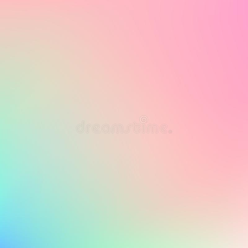 Blurred background. Absract Smooth light colors. Abstract pastel backdrop stock illustration