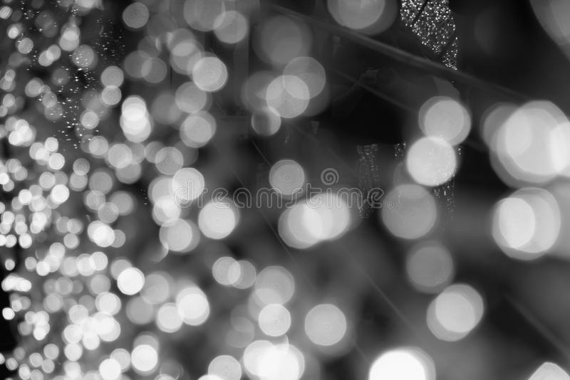 Blurred background with bokeh light. stock photo