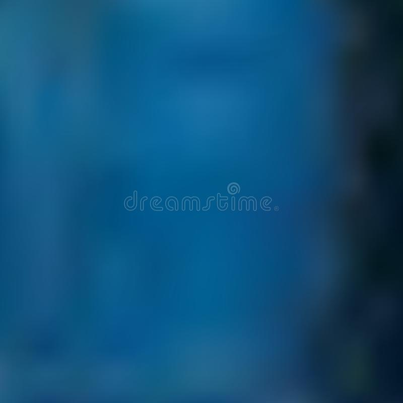 Blurred background of dark blue-green and azure hues, imitates the water surface royalty free illustration