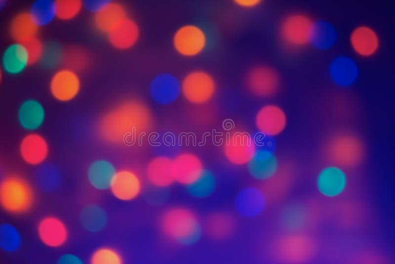 blurred background illumination stock image