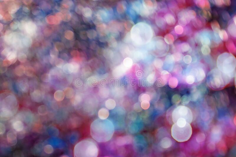 Blurred bokeh background, magenta color.  stock photo