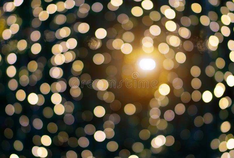 Blurred Bokeh Glitter Christmas, Xmas Holiday. Golden Abstract Blurred Bokeh Glitter Christmas, Xmas Holiday stock images