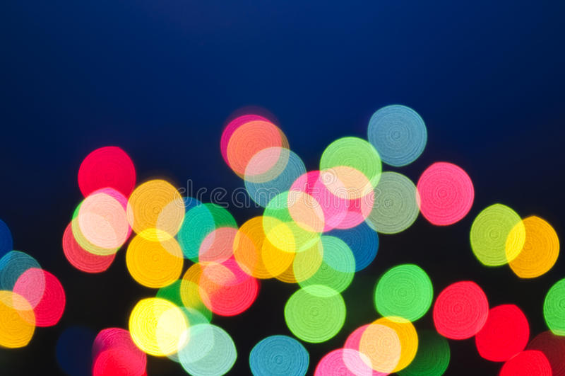 Download Blurred Christmas Lights Stock Image - Image: 10525601