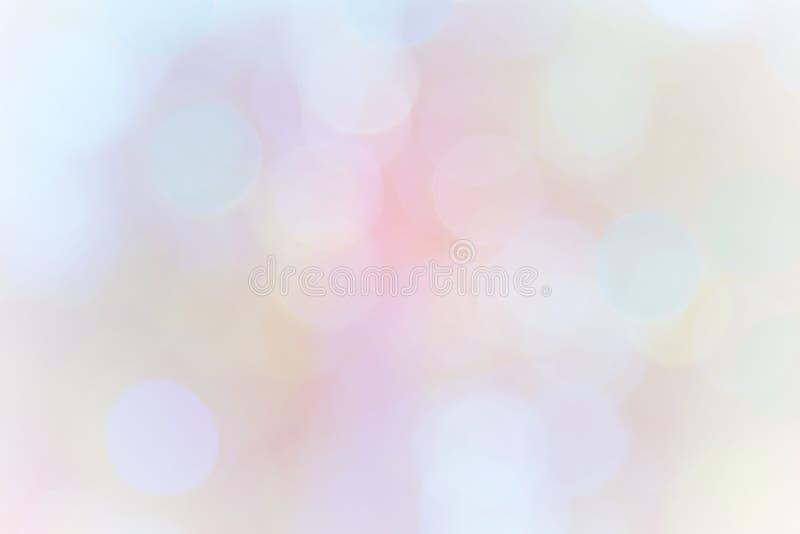 Blurred christmas snow lights on background.design effect focus royalty free illustration