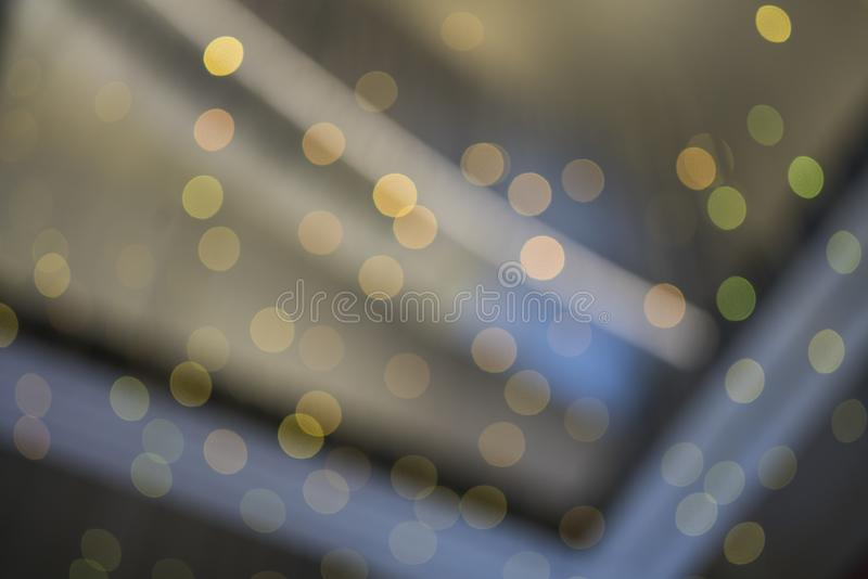 Blurred circle lights background. Pattern background stock images