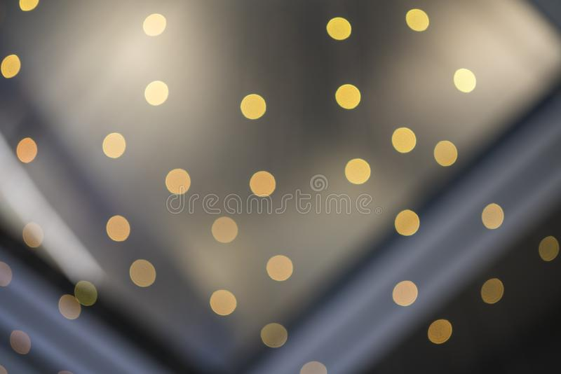 Blurred circle lights background. Pattern background royalty free stock photo